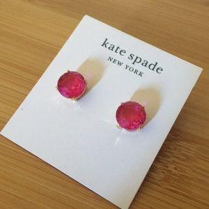 Kate Spade Pink gumdrops studs